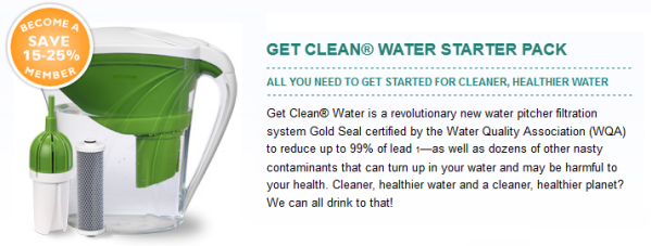 Get Clean Water Starter Pack