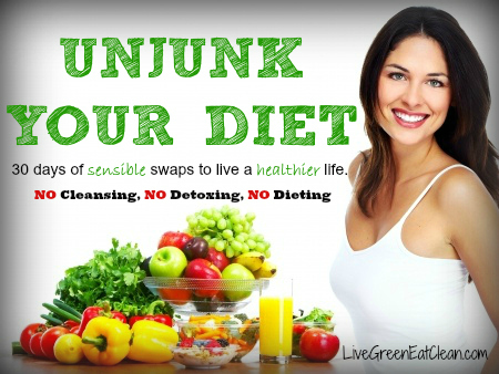 Unjunk Your Diet Logo LGEC