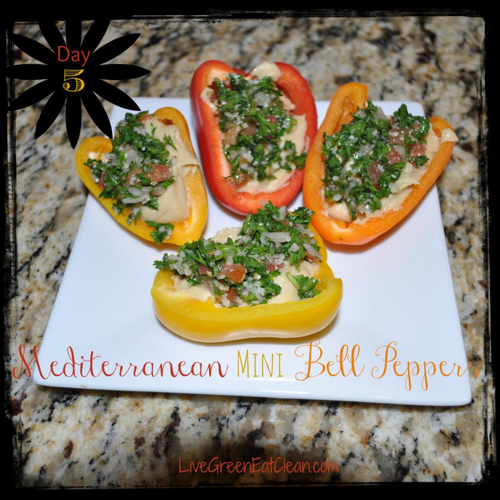 Day 5- Mediterranean Bell Peppers - Blog