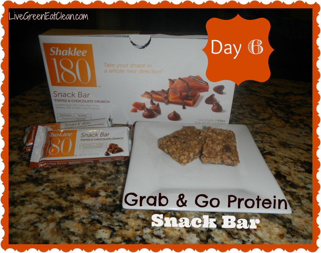 Day 6 - Grab n Go Protein Snack Bar - Blog