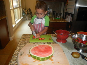 Day 7 - Watermelon Pizza (3)