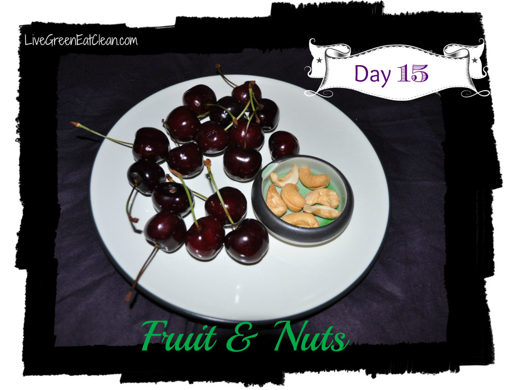 Day 15 - Fruit Nut Blog